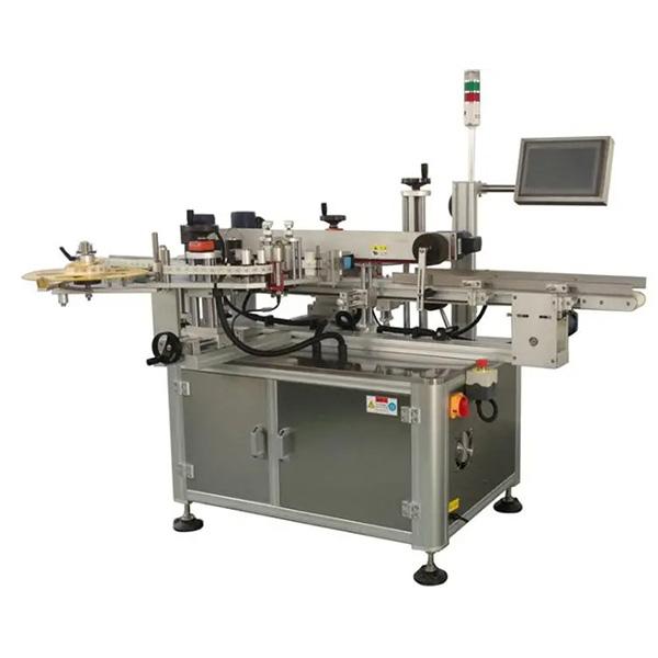 Machine à étiquettes automatique de coin de carton - une ou deux machines d'étiqueteuses de carton latérales