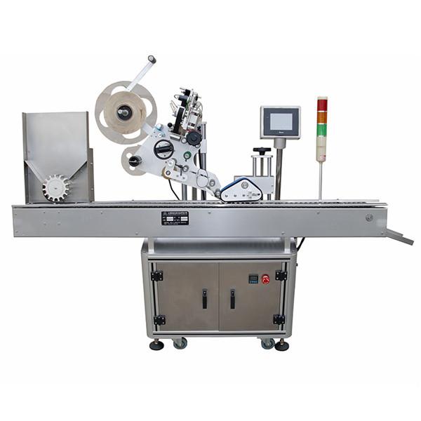 Étiqueteuse horizontale entièrement automatique pour seringues pharmaceutiques